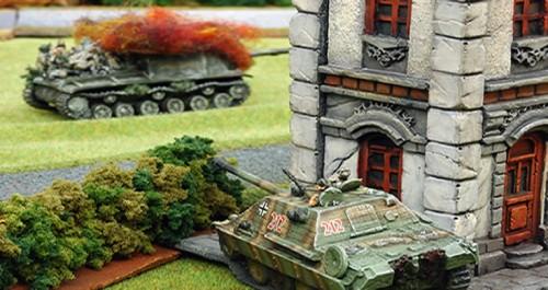Flames of war miniaturas
